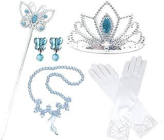 Princess Cinderella Dress up Party 4-Piece Accessories Gift Set