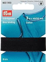 40//20 mm 100/% CO Falzung vanille Prym 903311 Schr/ägband Baumwolle 3,5 m