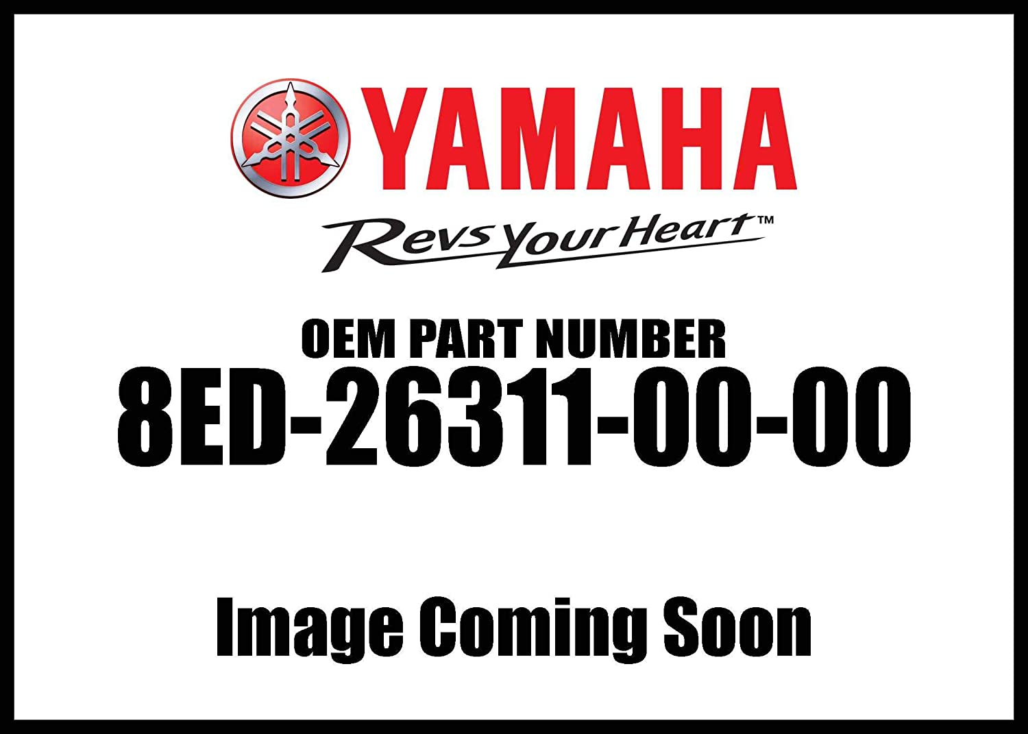 Yamaha Reservation 8ED-26311-00-00 Cable Throttle 1; 8ED263110000 Made by Phoenix Mall Y