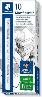 Staedtler Mars Plastic Eraser Core Refill, For Stick Eraser Holders, Premium Quality, 528 55,White