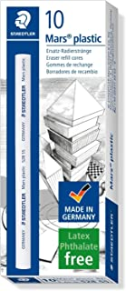 Staedtler Mars Plastic Eraser Core Refill, For Stick Eraser Holders, Premium Quality, 528 55