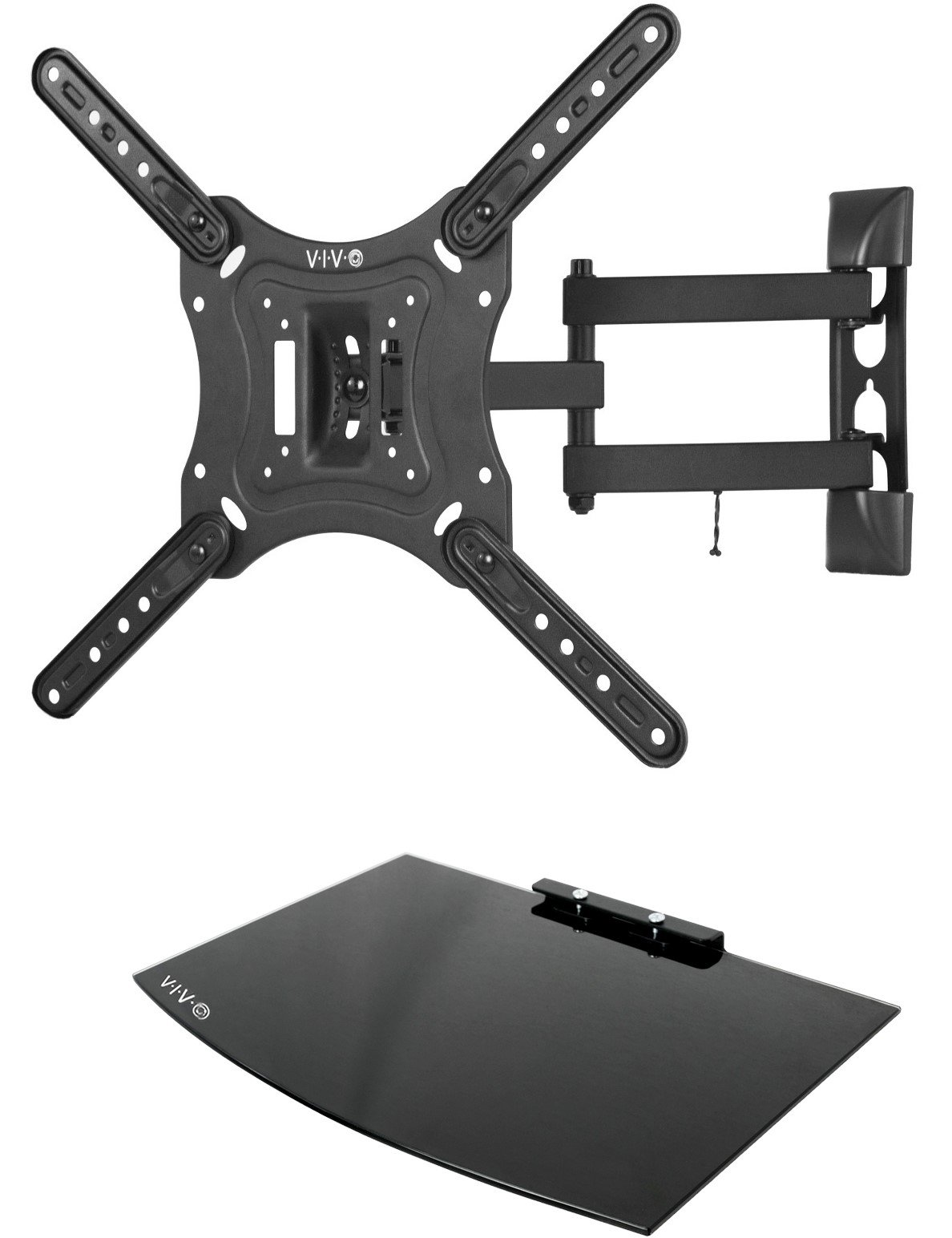 VIVO Adjustable Entertainment Floating Mount VWSF1