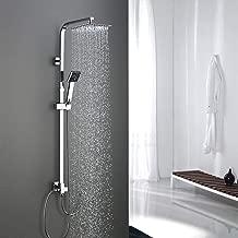 Wannen Armatur Mischbatterie Bad mit Duschset Kopfbrause Duschstange Handbrause