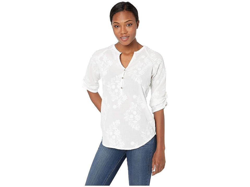 Royal Robbins Oasis Elbow Sleeve Tunic II (White) Women