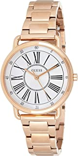 GUESS Womens Quartz Watch, Analog Display and Stainless Steel Strap - W1148L3