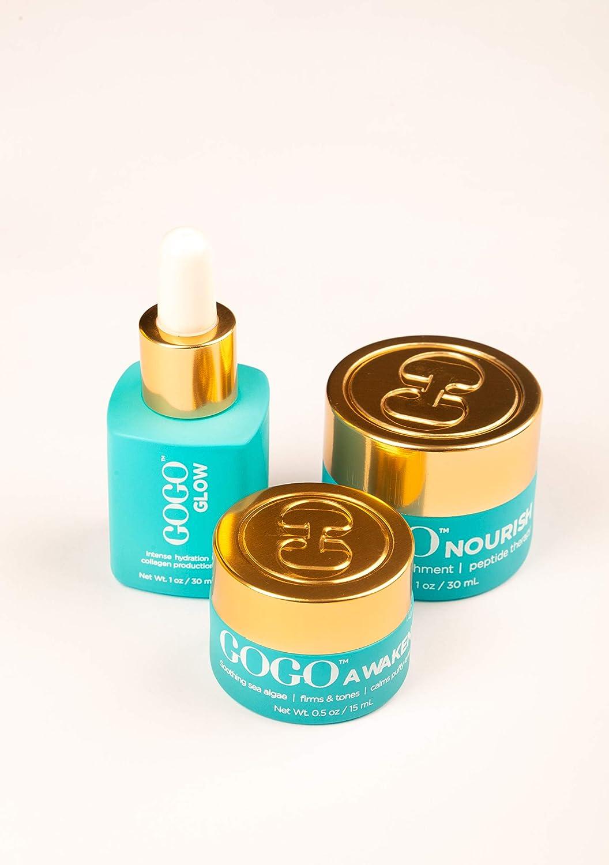 GoGo Skincare 3 Step System Nouris Anti Max 78% OFF Dallas Mall Vegan Wrinkle Aging