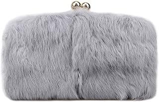 Fawziya Fur Purse Fashion Evening Bags And Clutches For Women