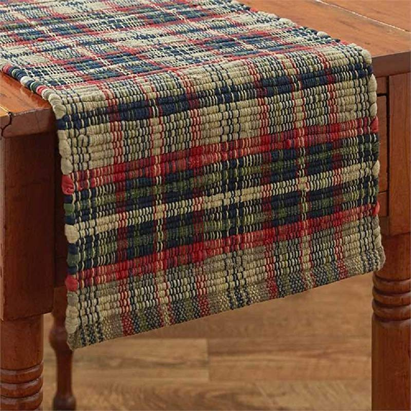 Park Designs Deep River Chindi Table Runner 36 Inches Length