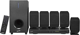 SuperSonic - 5.1 Channel DVD Home Theater System with USB Input & Karaoke Function, Home Theater Systems - Black (SC-38HT)...