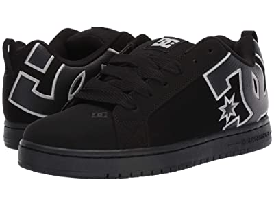 DC Court Graffik SE (Black/Black/White) Men