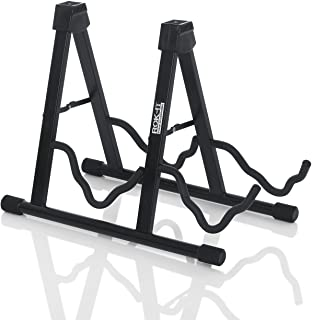 Rok It A-Frame Double Guitar Stand; Holds Most Standard Electric and Acoustic Guitars (RI-GTRAU2X)