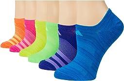 Superlite Super No Show Socks 6-Pack (Toddler/Little Kid/Big Kid/Adult)