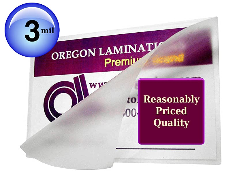 Double Letter Hot Laminating Pouches 3 Mil (Pk of 100) 11-1/2 x 17-1/2 Clear Glossy Small Menu size Laminator Sleeves