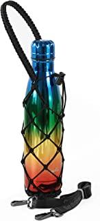 Gearproz Bottle Carrier - A Handcrafted, Stylish Holder w/Shoulder Strap - for S'well Bottles, Mira and Simple Modern - Helps Prevent Dropping and Dents