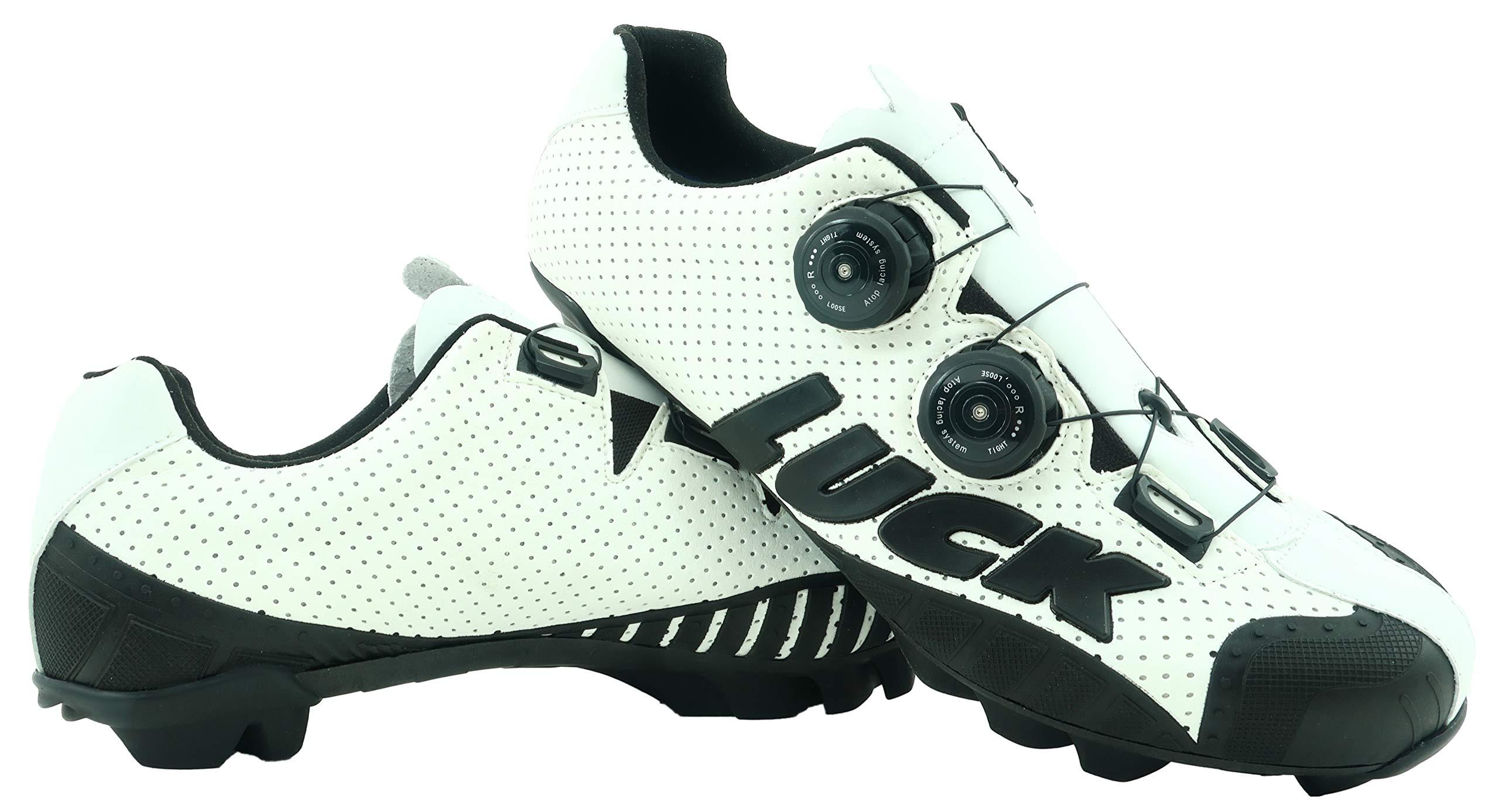 LUCK Zapatillas de Ciclismo MTB, Excalibur, Serie Profesional ...