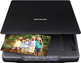 Epson Perfection V39 Color Photo & Document Scanner with Scan-To-Cloud & 4800..