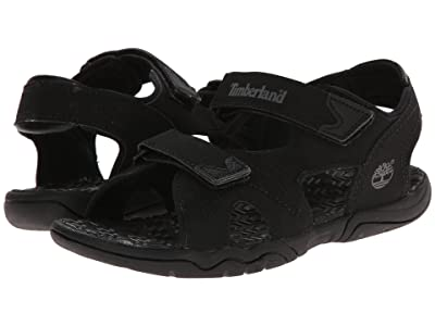 Timberland Kids Adventure Seeker 2 Strap Sandal (Big Kid) (Blackout) Kids Shoes