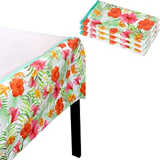 hawaiian plastic table covers