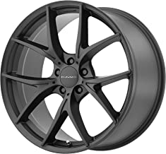 KMC KM694 20x9.5 5x4.5 45mm Satin Black Wheel Rim 20