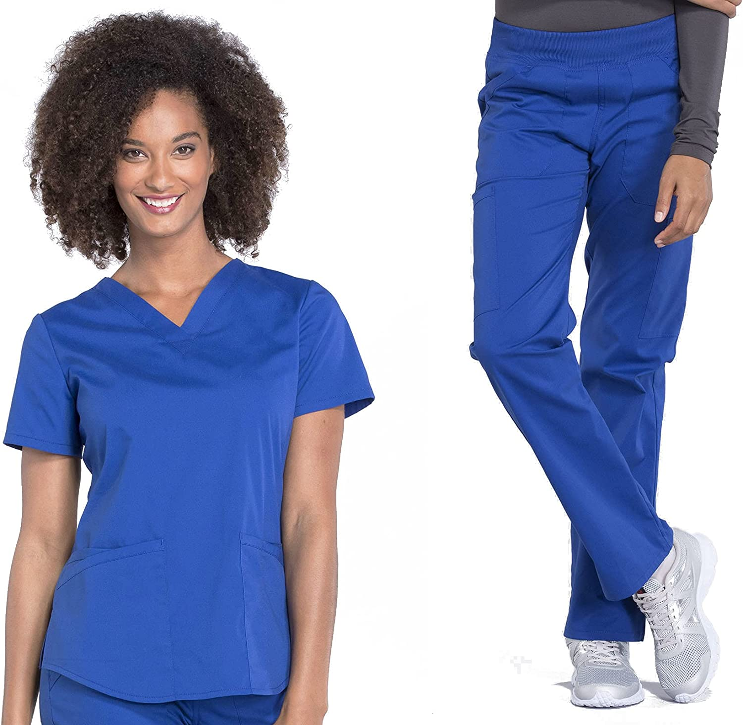 CHEROKEE Workwear Professionals Women's Top WW665 Women Limited Challenge the lowest price time cheap sale V-Neck