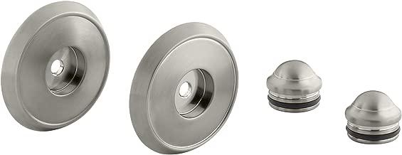 KOHLER K-349-BN Forte/Bancroft Slide Bar Trim Kit, Vibrant Brushed Nickel