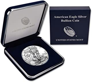2019 Silver Eagle In US Mint Gift Box $1 Brilliant Uncirculated