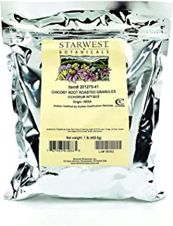 Chicory Root Roasted Granules 1 Lb (453 G) - Starwest Botanicals