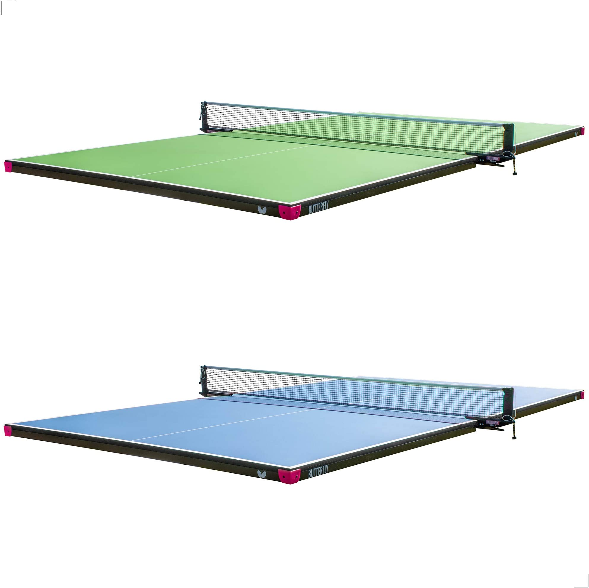 Butterfly Pool Table Conversion Top for Billiard Table - Conversion Table Tennis Game Table with Net - Pool Table Topper Game Tables - Pool Table Conversion Top for Ping Pong