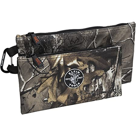 Zipper Bags Camo Bags Are 12 5 And 10 Inch 1680d Ballistic Weave Camouflage 2 Piece Klein Tools 55560 Amazon Com