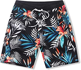 水着 キッズ 男の子 サーフパンツ 海パン ボーイズ 海水パンツ ジュニア サーフパンツ 通気速乾 ビーチパンツ メッシュインナー UVカット 水陸両用 夏祭り 水遊び 旅行 120-165サイズ