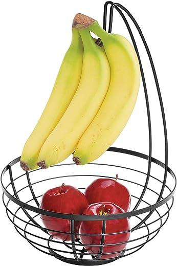 Obstkorb mit Bananenhalter