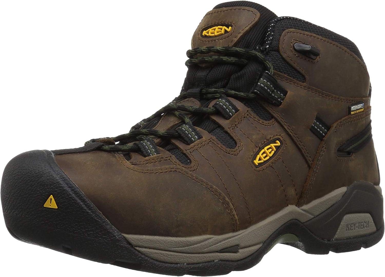 KEEN Utility Men's Detroit XT Mid Waterproof Toe Boot Steel Work Max 79% OFF National uniform free shipping
