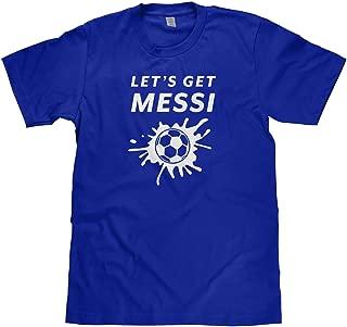 Mixtbrand Big Boys' Let's Get Messi Soccer Youth T-Shirt