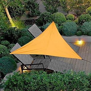 Goodbox Sonnensegel,Dreieck Sonnensegel,PES Polyester Wasserdicht UV-Schutz Sun Segel Wetterschutz für Garten BalkonTerrasse und Camping