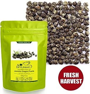 Jasmine Tea-50 Servings Pure Jasmine Dragon Pearls Tea-Jasmine Tea Pearls-Jasmine Flowers Tea-Jasmine Green Tea 100g/3.53oz