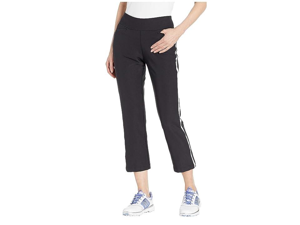 adidas Golf Novelty Flare Cropped Pants (Black) Women