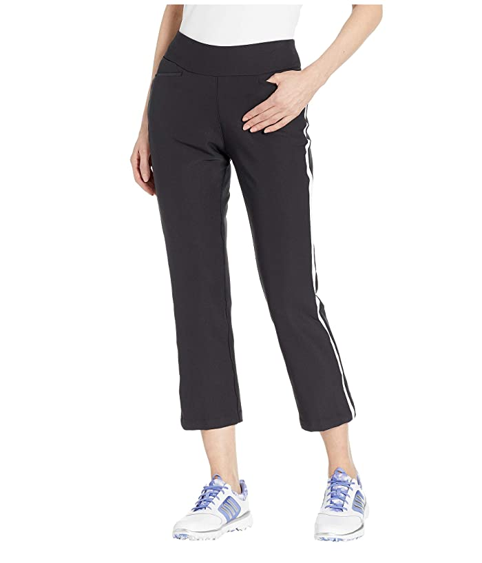 adidas Golf Novelty Flare Cropped Pants (Black) Women