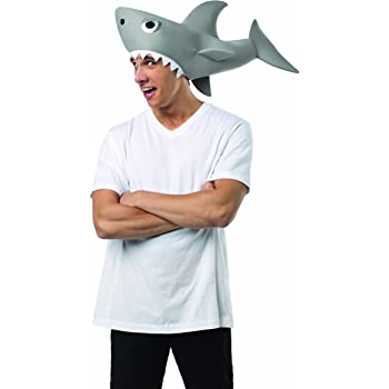 Rasta Imposta Men's Sharknado-Man Eating Shark Hat