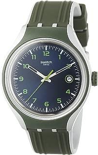 Swatch Women's YES4004 Go Climb Year-Round Analog Quartz Grey Watch
