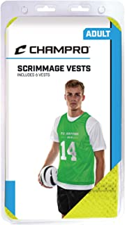 CHAMPRO Sports Adult Scrimmage Pinnie 6 Pack