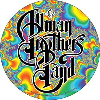 Licenses Products Allman Eat A Peach Sticker C/&D Visionary Inc S-0613