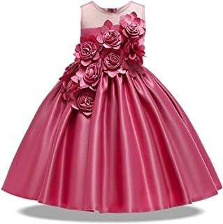 Surprise S Party Princess Dress Wedding Bridesmaid Gown Kids Dresses for Girls Costume Christmas Dress Clothing