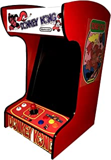 Retro Arcade Machine with 60 Games -Tabletop/Bartop - All The Classics - Perfect for Man Caves, Bars and Game Rooms! (Red)