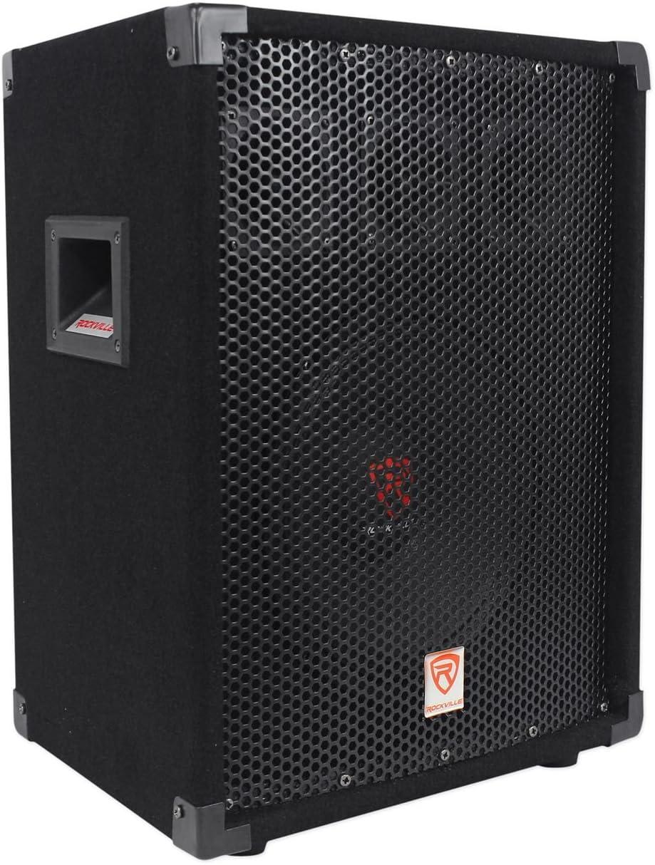 "Rockville 10"" 400 Bargain Watt 8-Ohm 2-Way Passive PA Speake Max 54% OFF DJ Pro"