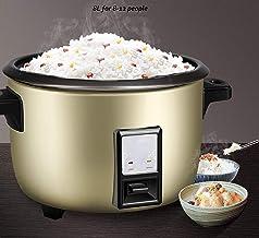 Rijstkoker steamer 8L non-stick binnenpot, automatisch koken, gemakkelijk te reinigen, hoge temperatuur bescherming, make ...