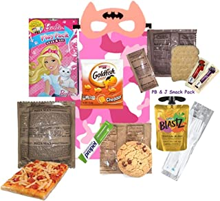 KIDS MRE (for a GIRL) Full Meal Several Entrée Options w/ Play Pack & more! (Beef Stew)