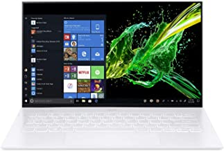 "Acer Swift 7 Thin & Lightweight Laptop 14"" FHD IPS Touch Display in a Thin .10"" Bezel, 8th Gen Intel Core i7-8500Y, 16GB L..."