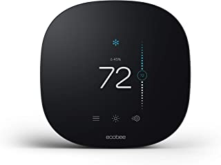 ecobee EB-STATE3LT-02 3 lite Smart Thermostat, 2nd gen,Black