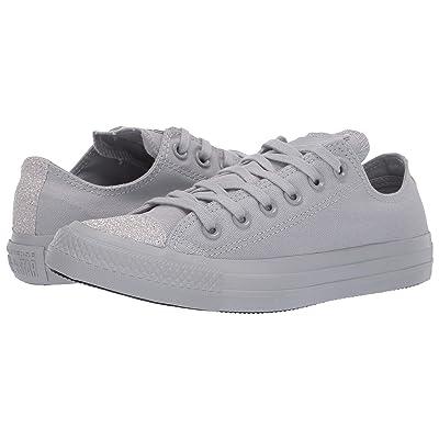Converse Chuck Taylor(r) All Star(r) Sugar Charms Ox (Wolf Grey/Wolf Grey/Silver) Women