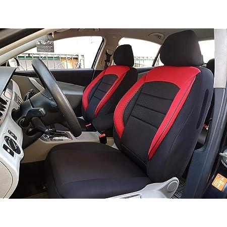 Sitzbezüge K Maniac Für Mercedes B Klasse W245 Universal Schwarz Rot Autositzbezüge Set Komplett Autozubehör Innenraum No1725282 Kfz Tuning Sitzbezug Sitzschoner Auto